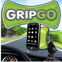 Free Shipping 150pcs/lot Gripgo Grip Go Mobile Phone Holder GPS Car Holder Hands Free Phone Mount no COLOR BOX PACKING