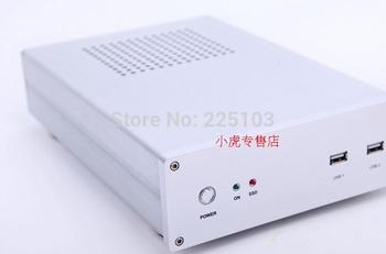 Aluminum htpc mini itx computer case small american hv-4 b i7 i3 t02 i5