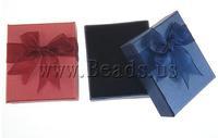 Free shipping!!!Cardboard Jewelry Set Box,Trendy, pendant & finger ring & bracelet & earring & necklace, Rectangle