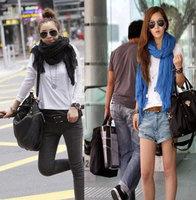 Free Shipping! ladies shawls scarf, can be MUSLIM HIJAB, cotton Drape Fashion patchwork shawls scarf,Multicolor