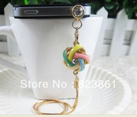 Free Shipping!! Alloy Nest Shaped Dust Plug 3.5mm Dust Cap