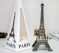 10pcs/lot France Eiffel Tower model for tourist souvenir holiday gift home decoration 10cm free shipping