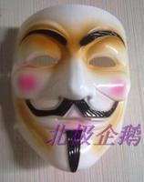 free shipping macka Mask   pop  v for vendetta  mask halloween mascara masquerade disguise carnival costume maska maske masks