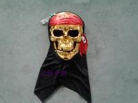 macka Dance party  gold skull  resin gold belt cloth  mask halloween mascara masquerade disguise carnival costume maska maske