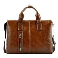 ZEFER genuine leather male briefcase portfolio,brand desinger business tote handbag shoulder bag free shiping