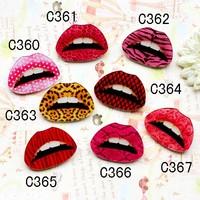 Custom Make All Kinds Of Japanese Harajuku Badges And Brooches, Acrylic Lips Brooches(Min order is $10 Mixed order)