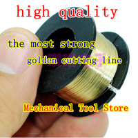 200M Golden Molybdenum Wire Cutting lines/line For refurbish Machine separator for iphone 4 4S 5 , for samsung glass repair fix
