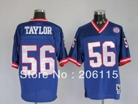 Free Shipping #56 Lawrence Taylor 1986 Throwback Football Jersey Cheap Wholesale Stitched New York American Football Jersey