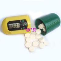 12pcs/lot Hot-selling capsules lanyard electronic timer kit electronic reminder intelligent remind kit