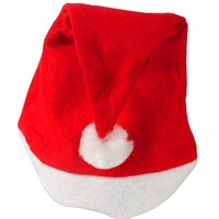 Freeshipping Wholesale 50PCS/ Lot 2013 NEW Year Gifts Christmas Hat For Adults Winter Santa Hat Red In Stock