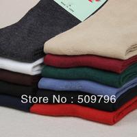 12pairs/lot highknee cotton socks