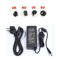 UK /US /EU /AU 12V 5A 60W Power Supply AC to DC Adapter 3528 5050 LED Strip