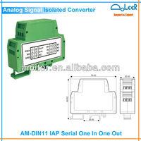 AM-DIN11-F 1 Input 1 Output Signal Analog Anti-Interference Isolations Transducer