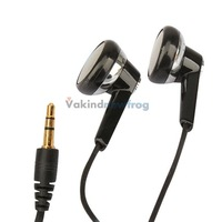 New Black 3.5mm Stereo Earphones for OPPO MP3 PC I V3NF