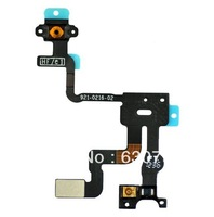 for iPhone 4S Proximity sensor Induction Light Power Flex Cable free shipping