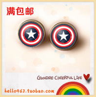 Hot  Sale   (30 pair /lot) Time the sign of gem stud earring earrings earring small accessories 323