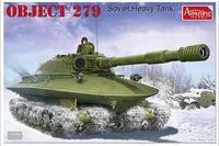 Amusing Hobby model 35A001 1/35 OBJECT 279 Soviet Heavy Tank plastic model kit