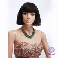 New 2013 Hot selling queen hair products Wig supernova sale stubbiness handsome fluffy bangs qi bobo  Free Shipping High Quality