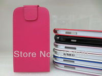 Vertical Leather Flip Case for Samsung Galaxy S4 China Post Free Shipping