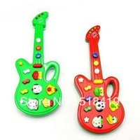 Children toy baby toy electronic guitar belt 12 music guitar gift