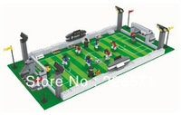 2014 Brazil Football World Cup Building Block Sets 251pcs DIY Construction Bricks Toys For Children,LegoCompatible