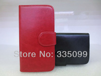 New Flip Bling Luxury PU leather Case with card holder For Samsung S3/S4 i9300/9500