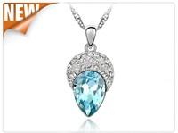 2015 new Small jewelry wholesale crystal necklace jewelry beauty women fashion