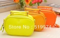 2013 women's handbag candy color bags fashion shoulder bag mobile packet