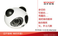2013 MK500 Portable mini Speaker Fashion China's panda  Speaker for iphone/ipod/ipad/mac mp3/mp4/ PC/ PSP/computer