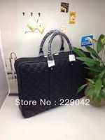 Hot sale N41146 DAMIER INFINI Porte Documents Voyage Briefc Black Tote Bag