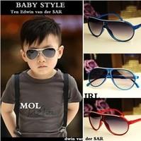 Free shipping baby fashion personalized sunglasses child  large fashion anti-uv sun-shading Child glasses