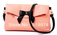 women's handbag casual bow one shoulder handbag messenger bag small bags 5 colours