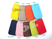 Slim Side Back Battery Flip cover PU Leather Housing case for Samsung Galaxy Win i8552  5pcs/lot  freeshipping