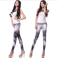 2013 New Style Digital Printing Fashion Leggings For Female Starry Sky Joker Render Pants SWL-103