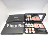 Freeshipping Famous Brand MC makeup palette 12colors eye shadow + 2 colors blusher + brush eyeshadow palette cosmetic palette