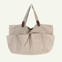 2013  Women Canvas cloth vintage personality linen one  tote bags
