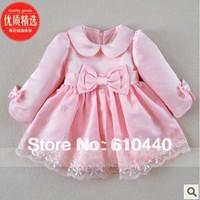 retail baby girls princess dress children spring autumn dress children wedding party dress girl's autumn  formal dress
