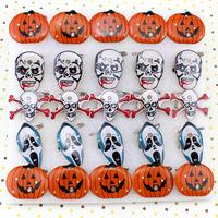 Halloween brooch supplies toy flash brooch badge led brooch 4g