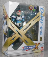 Free shipping Bandai Mega Man X Full Armor - D-Arts Model Kit Action Figure;  (Original Ver) with box