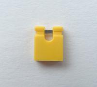 1000PCS/LOT 2.54MM yellow jumper cap shorting cap