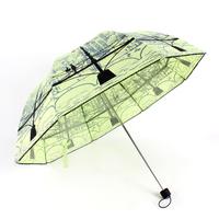 Women's folding umbrella bridge Structure princess mushroom anti-uv sun protection umbrella + FREE shipping