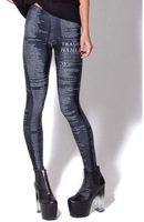 2013 new arrival hot top sales women's fashion letters magazine artical  MIlk Pants Sexy slim Leggings for women ladies