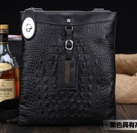 free shippingnew arrival hot sale fashion men bags, men genuine leather messenger bag, high quality man business bag K-B03