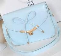 Shaping bag bow lacing shaping women's small lock one shoulder cross-body bag
