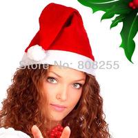 Adult Christmas Hats Santa hat Christmas Cap Xmax hat For Man and Woman santa claus costume/Xmas clothes Free Shipping H011