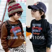 2013 autumn and winter p boys clothing baby child long-sleeve fleece sweatshirt outerwear wt-1215