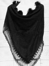 fur shawl promotion