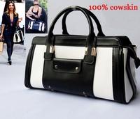 Real CowSkin leather ladies Handbag women Multifunction Genuine leather bags brand Handbags Designer