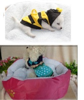 1pcs pet cat dog lambs wool soft kennel M Size pet comfortable soft house warm nest pet houses double layers