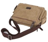 Men's Vintage Canvas School Military Shoulder Bag Messenger Bag bookbag 1106